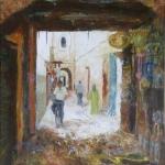 Biking through the Medina