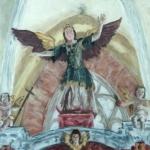 Altarpiece angel - Richiș church